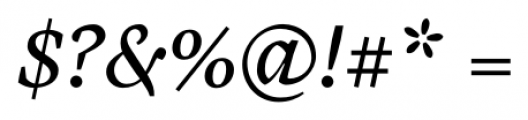 Cardea Italic Font OTHER CHARS