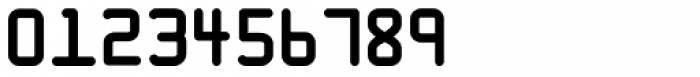 Caard Large Numbers Font OTHER CHARS