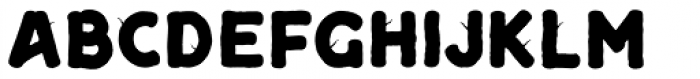 Camp Fill Font LOWERCASE