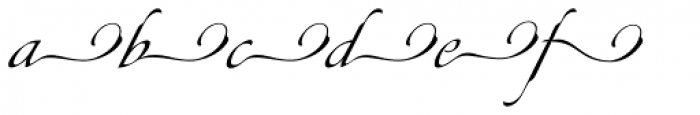 Canette Alt One Font LOWERCASE