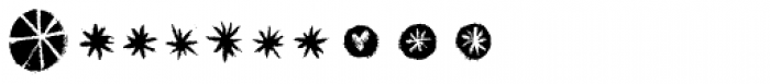Canvas Icons Three Font OTHER CHARS