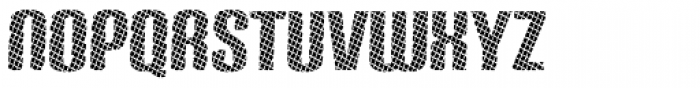 Carbon Fence Font LOWERCASE