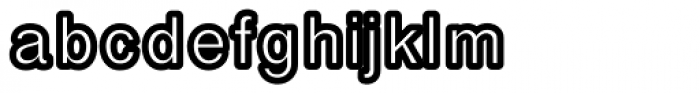 Carbono Bold Font LOWERCASE