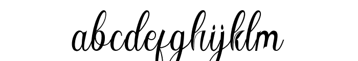 Angelisa Font LOWERCASE