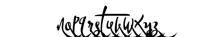 Bandrose Ornament 3 Font LOWERCASE