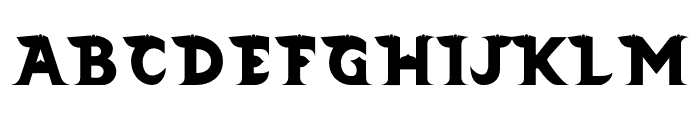 Barong Regular Two Font UPPERCASE