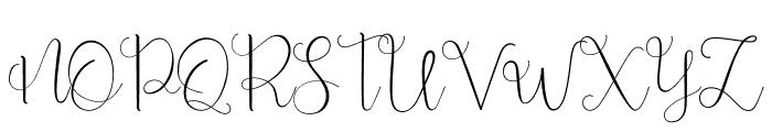 Beauty And Love Script Font UPPERCASE