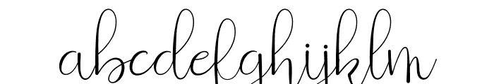 Beauty And Love Script Font LOWERCASE