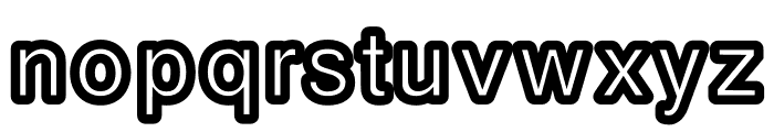 CarbonoBold Font LOWERCASE