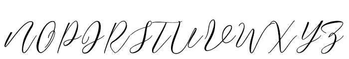 JustMarriage2 Font UPPERCASE
