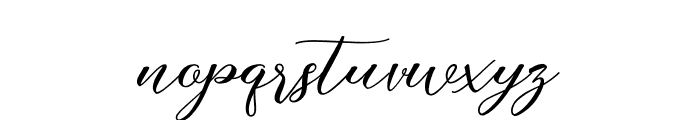 JustMarriage Font LOWERCASE