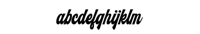Monthelo Font LOWERCASE