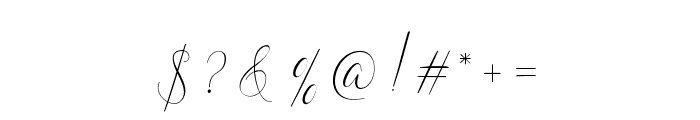NaturaBeauty Font OTHER CHARS