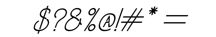 OldAlphaItalic Font OTHER CHARS