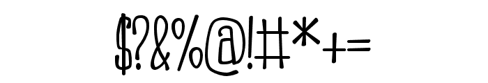 PNSnollygoster Font OTHER CHARS