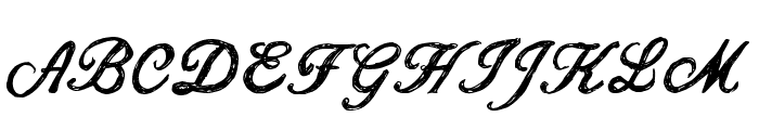 CF Jacques Cartier Regular Font UPPERCASE