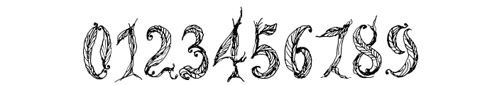 CF Tree of Life Regular Font OTHER CHARS