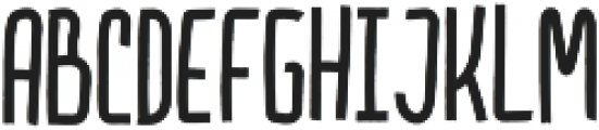 Chatter Hat Caps otf (400) Font LOWERCASE