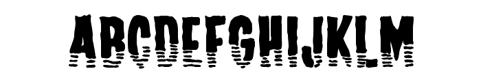 Channel Tuning Font LOWERCASE