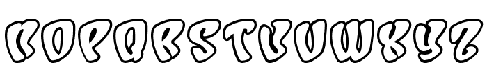 Character Open Font UPPERCASE
