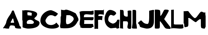 Charcoal first Font LOWERCASE