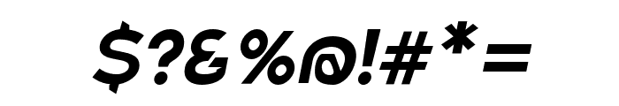 Charger Eco Oblique Font OTHER CHARS