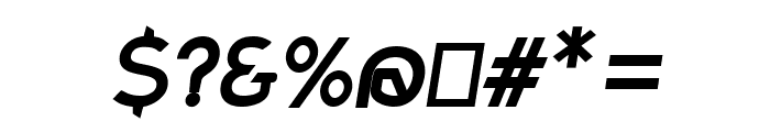 Charger Sport Bold Oblique Font OTHER CHARS