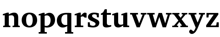 Charis SIL Bold Font LOWERCASE