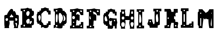 Chemical Gus Font UPPERCASE