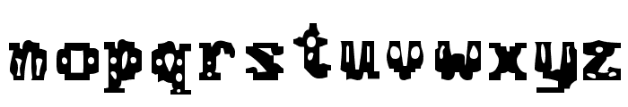 Chemical Gus Font LOWERCASE