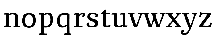 Chucaratext Font LOWERCASE