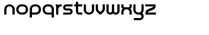 Chromium Yellow NF Regular Font LOWERCASE