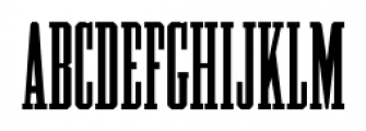 Cheyenne JNL Regular Font UPPERCASE