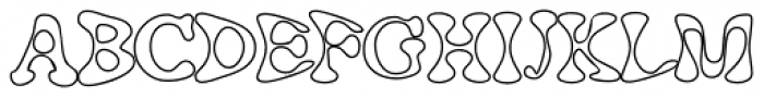 Cheap Easy And Hollow Font UPPERCASE