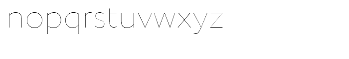 Circe Rounded Thin Font LOWERCASE