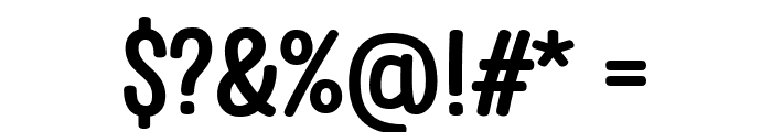 Clambake October Six Bold Font OTHER CHARS