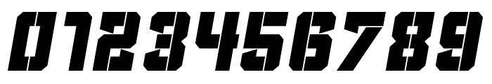 Clean Sports Stencil Font OTHER CHARS
