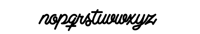 Clear Line - PERSONAL USE ONLY Font LOWERCASE