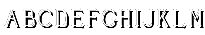 Cleaver's_Juvenia_Shadowed Font LOWERCASE