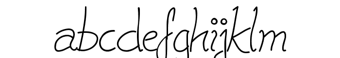 Cleavin Font LOWERCASE