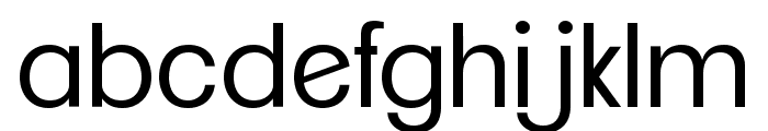 ClementePDag-Book Font LOWERCASE
