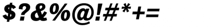 Classic Grotesque Pro-Bold Italic Font OTHER CHARS