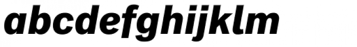 Classic Grotesque Pro-Bold Italic Font LOWERCASE
