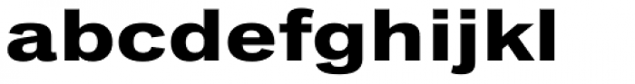 Classic Grotesque Pro Ext Bold Font LOWERCASE