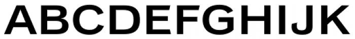 Classic Grotesque Pro Ext SemiBold Font UPPERCASE