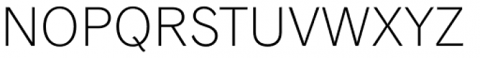 Classic Grotesque Pro-Light Font UPPERCASE