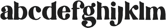 Collective Regular otf (400) Font LOWERCASE