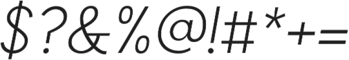Compass Rose CPC Thin Italic otf (100) Font OTHER CHARS