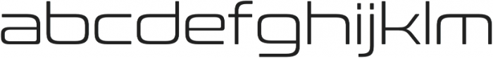 Conthrax Light otf (300) Font LOWERCASE