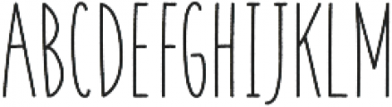 Coyote Bold-Rough otf (700) Font UPPERCASE